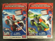 MEGA BLOKS - THE AMAZING SPIDER-MAN - SPIDER-MAN AND LIZARD RACERS - RC 862