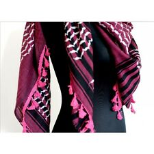 Hirbawi Arabic Scarf Made in Palestine Shemagh Keffiyeh Hatta True Original Rose
