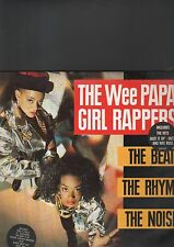 """THE WEE PAPA GIRL RAPPERS - the beat the rhyme the noise LP + EP 12"""""""