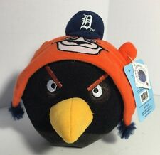NEW w tags Detroit Tigers Black Angry Birds Plush Ball MLB Geniune Merchandise