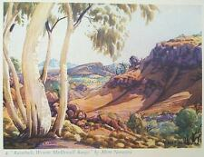 1962 SIGNED Rex Battarbee aboriginal art Namatjira 17 BEAUTIFUL COLOUR PLATES