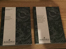 NEW WARRANTY/MANUAL PAPERS FOR AUDEMAR PIGUET ROYAL OAK OFFSHORE - CHRONO- DIVER