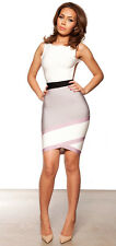 HOUSE OF CB 'Jasmine' Grey Backless Bandage Dress 'FAULTY' SS 7716