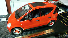 1/18 Maisto Mercedes Benz A Class red NOS mint in box