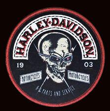 HARLEY DAVIDSON Skull Rockers 4 INCH  HARLEY PATCH