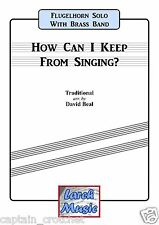 HOW CAN I KEEP FROM SINGING - Flugel Brass Band Music - Score and Parts *NEW*