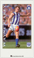 1995 Hungry Jack's AFL Captains Trading Card #12 Wayne Carey (North Melbourne)