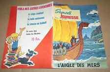 SAMEDI JEUNESSE N°91 Aigle des mers Vickings François Sels Kim Devil Forton1965