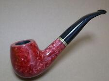 """ausgefallene """"JEAN CLAUDE"""" Pfeife - rot Marmor Look - NEU - 95"""