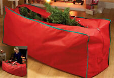 BNIP LARGE RED XMAS TREE STORAGE BAG FITS UP TO 8FT TREE