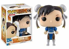Street Fighter Chun-Li Funko Vinyl Pop! Figure #136