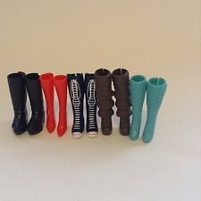 Mixed Lot Of 5 Pairs Bratz Monster High Doll Boots Shoes Heels Accessories (3)