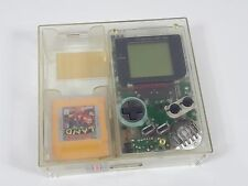 Nintendo Game Boy DMG-01 clear original retail store plastic case match serial