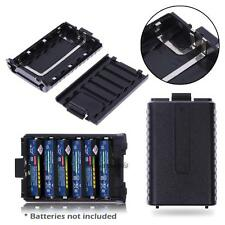 6AAA  Extended Battery Case Box for Baofeng Radio F8 F9 UV5R UV5RE UV5REPLUS=