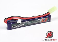 Nanotech 1200mAh 2 cella AIRSOFT LIPO BATTERY PACK, 7.4 V 25 - 50 c