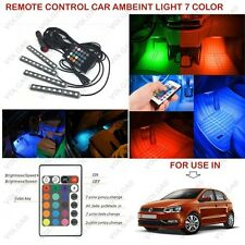 Remote Control Ambient Lighting Interior Led Light For Volkswagen Polo