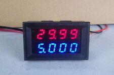 100V 0-10A DC Digital LED Voltmeter Ammeter Amp Volt Meter -in shunt 12v 24v car
