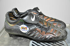 Nike Total 90 ZOOM AIR Gr. UK 10 Eur 45 Boots RAR Vintage Neu SG SHINY FOOTBALL