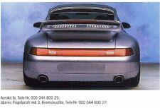 Porsche 993 AEROKIT 1b oberes Flügelprofil mit 3. Bremsleuchte 00004480009 NEU