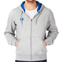 Canterbury Mens S Full Zip Grey Marl Hoodie BNWT Hooded Top Hoody m BN RRP £50
