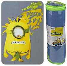 1m x 1.5m Despicable Me Minions Soft Fleece Beach Cuddle Blanket - POISON IVY