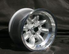 2 Opel Kadett,Ascona,Manta,GT Felgen 8x13 silber/poliert TÜV lieferbar ab 15.5.