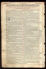 1635 KING JAMES RED RULED BIBLE LEAF/TITLE 2ND TIMOTHY/2:15/STUDY TO BE APPROVED