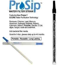 Propur - ProSip Water Filter Straw - ( Removes Fluoride! ) Emergency Survival