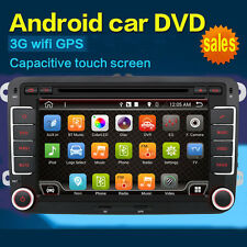 """for VW Jetta Passat Golf 7"""" Android Car Stereo GPS DVD Player 3G Wifi Radio SD"""