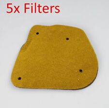 replacement air filter 5x for Yamaha YW50 2T  BWS 50  Zuma 50 YW50