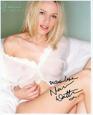 Naomi Watts Signed Gypsy King Kong The Ring Twin Peaks 8x10 Color Photo COA pj2