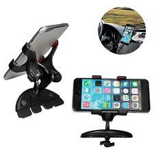 360º Universal Car CD Slot Phone Mount Holder Stand Support For Cell Phone GPS -