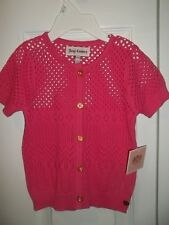 JUICY COUTURE BABY GIRL  SWEATER RASPBERRY 12-18m  $98  NWT