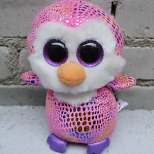 ty beanies boos Penguin Patty missing heart tag defect stuffed animal toy