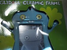 "Ugly doll Babo Ceramic Picture frame light blue 6x4"" photo, Rare, no longer sold"