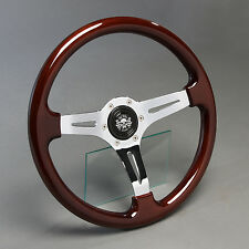 Retro Holzlenkrad Sportlenkrad 360mm BMW 02 1502 1602 1802 2002 ti tii Turbo NEU