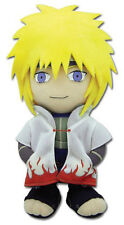 "Brand New Naruto Shippuden GE-8941 ~ 8"" 4th Hokage Minato Plush Toy Doll Stuffed"