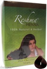 Reshma Henna Powder - DARK CHOCOLATE   Color 150g Pack for Hair