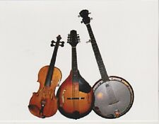 "*Postcard-""The 3 Musical Instruments"" ...  -Classic-"