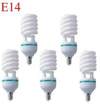5 X E14 SPIRAL 18W 6400K CLF LIGHTBULB 18WATTS ENERGY SAVER DAYLIGHT BULB