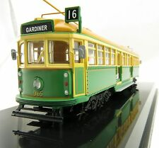 Cooee Static W6 CLASS DIECAST MELBOURNE TRAM GREEN RATTLER NO. 965 1:76