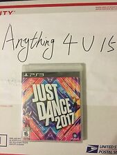 BRAND NEW & SEALED Just Dance 2017 (SONY PS3) FREE SHIPPING