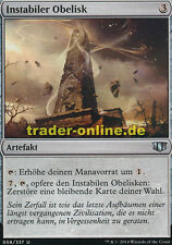 2x Instabiler Obelisk (Unstable Obelisk) Commander 2014 Magic