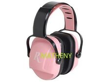 Radians Pink Passive Shooter Earmuffs ~ Hearing Protection Shooting Ear Muffs