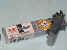 NEW ECCI-A-4 500-1.0-C500 900 ISCAR CARBIDE ENDMILL WITH .01 CHANFERED CORNERS