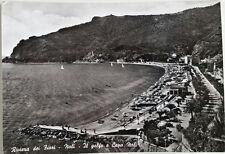 Cartolina Riviera dei Fiori Noli Il Golfo e Capo Noli VIAGGIATA Postcard