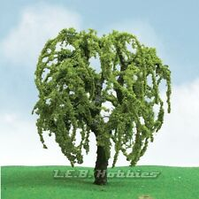 "JTT Scenery Products Willow Tree N-Scale 1.75""-2"" Pro-Elite Series 3/pk 92202"