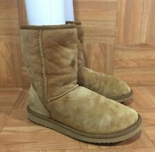 $155❤️ UGG Australia Classic Short Boots Chestnut Brown 5825 Sz 6