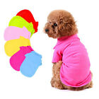 Small Pet Dog Apparel POLO Shirt Cool Puppy Tops Clothes T-Shirts Size XS S M L