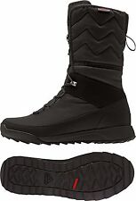 ADIDAS CHOLEAH HIGH CP WINTER SNOW BOOTS WOMEN'S SHOES SIZE US 8.5 BLACK AQ2020